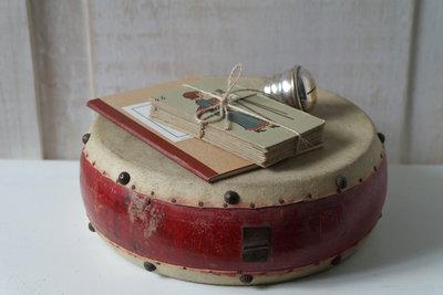 Oude handtrommel *Verkocht*
